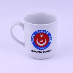Logo ve Resim Baskılı Hediyelik Porselen Kupa Bardak